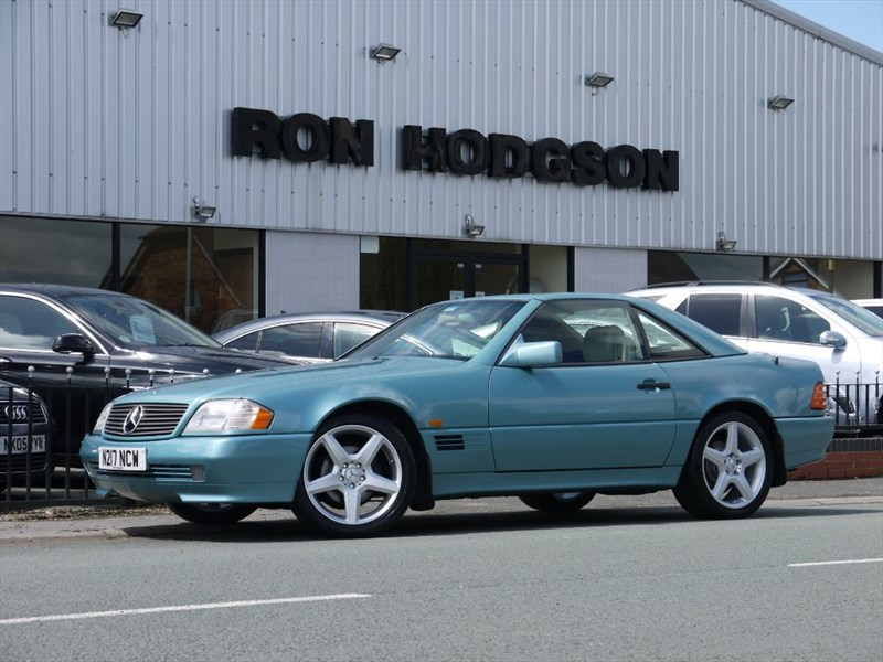 used Mercedes 280SL SL280 with Hardtop in lancashire