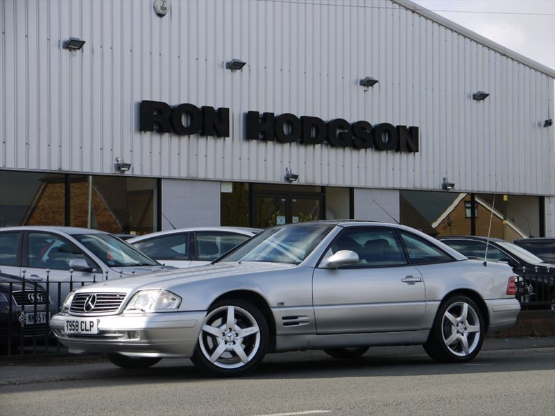 used Mercedes SL320 Limited Edition Panoramic Hardtop in lancashire