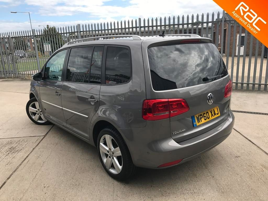 Used Grey Vw Touran For Sale Essex