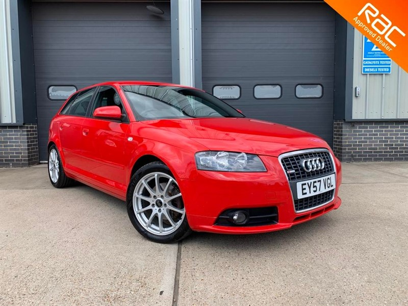 used Audi A3 TFSI S LINE SPORTBACK in burnham-on-crouch