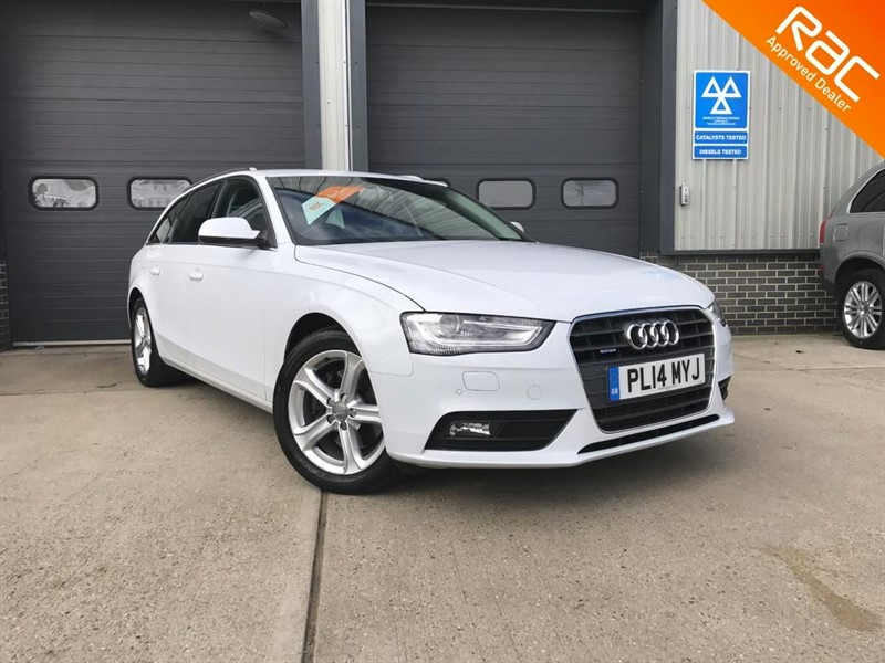 used Audi A4 Avant TDI QUATTRO SE TECHNIK in burnham-on-crouch