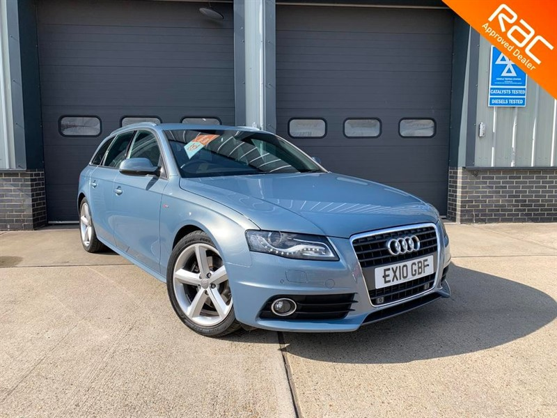 used Audi A4 AVANT TDI DPF S LINE in burnham-on-crouch