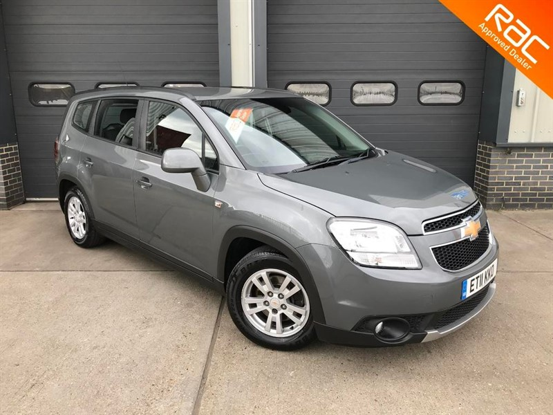 used Chevrolet Orlando VCDI LT in burnham-on-crouch