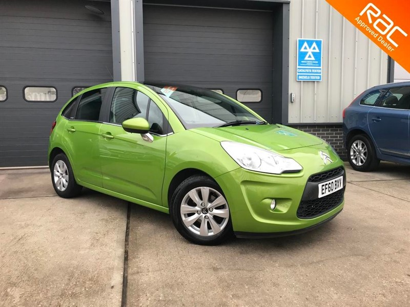 used Citroen C3 1.4 VTR PLUS 2015, 5dr, Manual, Petrol, Green, Finance Available in burnham-on-crouch