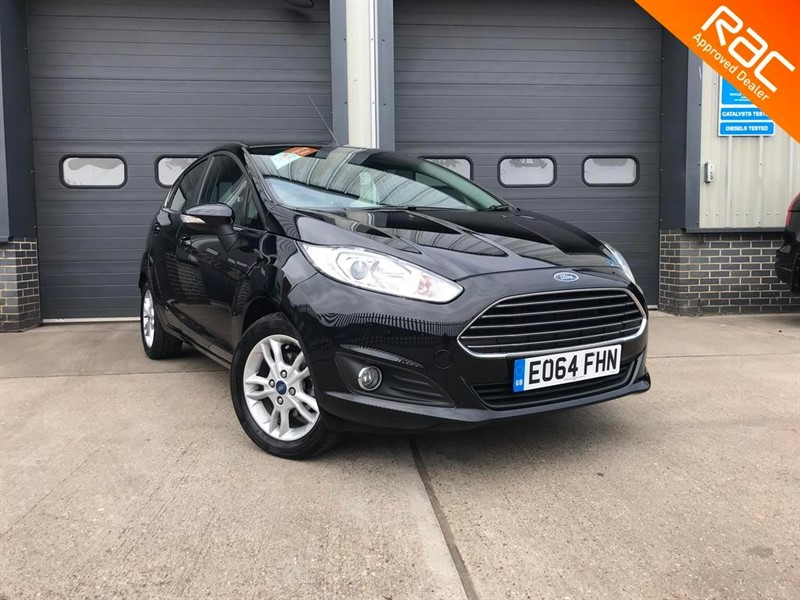 used Ford Fiesta ZETEC in burnham-on-crouch