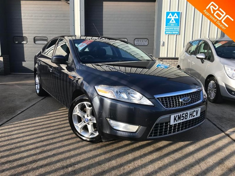 used Ford Mondeo TITANIUM 1.8 TDCI 125 , 2008, 5dr, Manual, Diesel, Grey in burnham-on-crouch