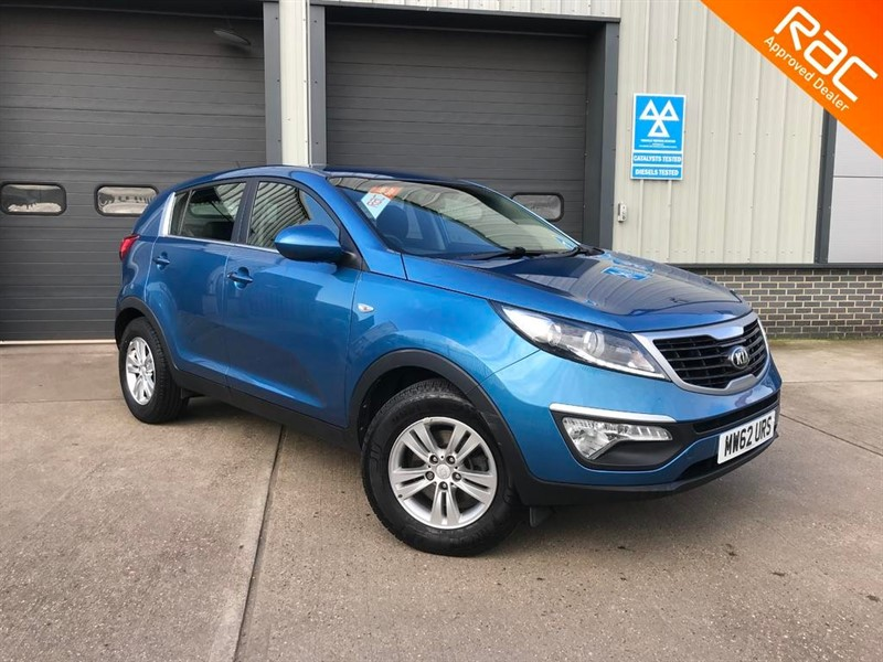 used Kia Sportage GDi 1 in burnham-on-crouch