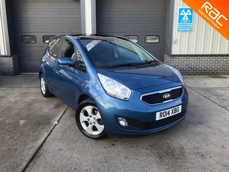 used Kia Venga CRDI 3 1.6, 2014, 5dr, Manual, Diesel, Blue, £30 Road Tax, Finance Available in burnham-on-crouch