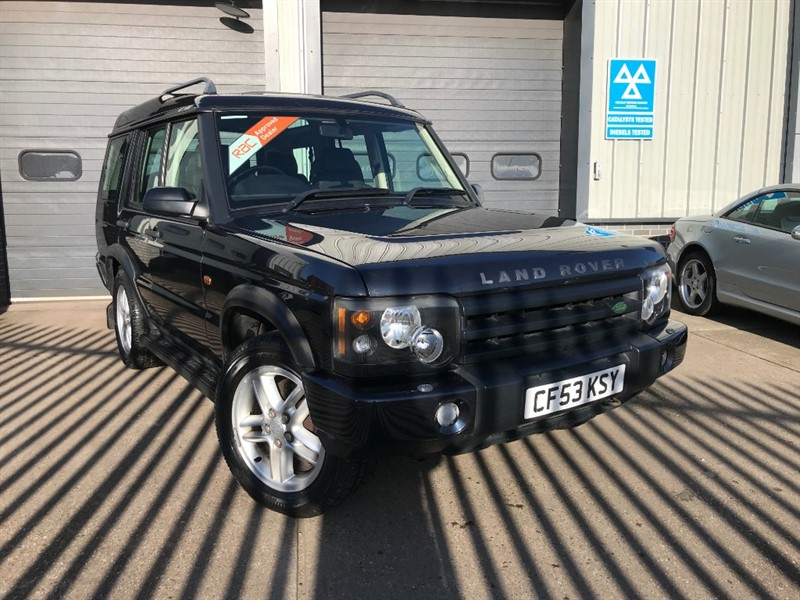 used Land Rover Discovery 2.5 TD5 LANDMARK 7 SEATS in burnham-on-crouch