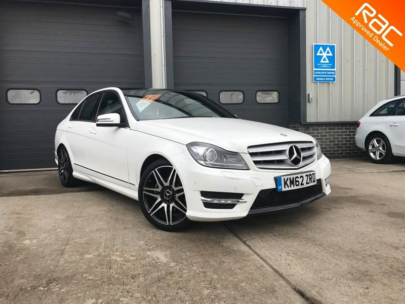 used Mercedes C220 CDI BLUEEFFICIENCY AMG SPORT PLUS in burnham-on-crouch