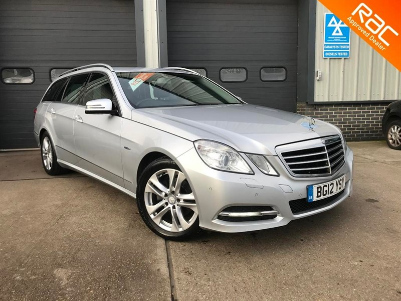 used Mercedes E220 BlueEFFICIENCY EXECUTIVE SE CDI in burnham-on-crouch