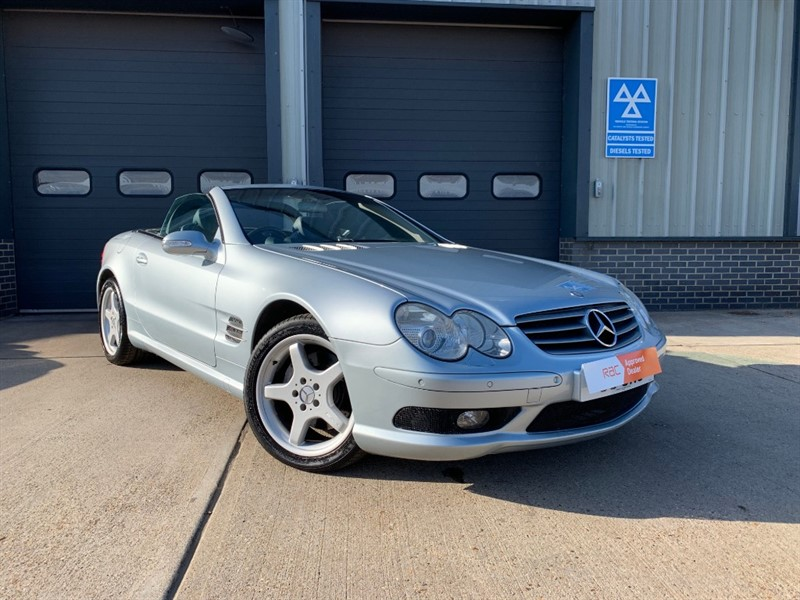 used Mercedes SL 500 R230 Convertible in burnham-on-crouch