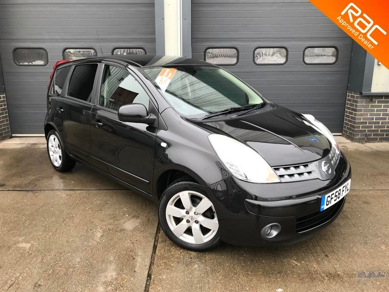used Nissan Note TEKNA in burnham-on-crouch