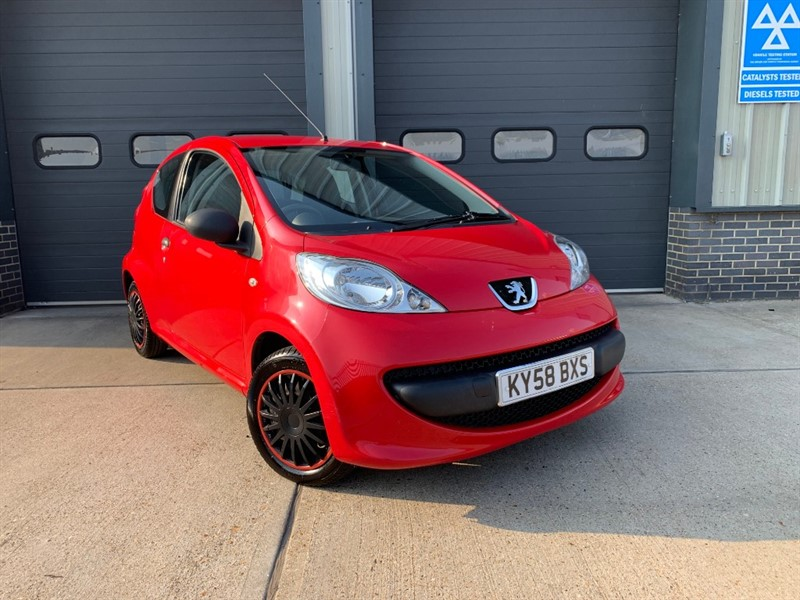 used Peugeot 107 KISS in burnham-on-crouch