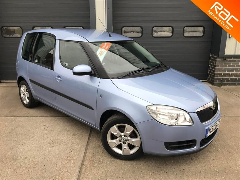 used Skoda Roomster ROOMSTER2 16V in burnham-on-crouch