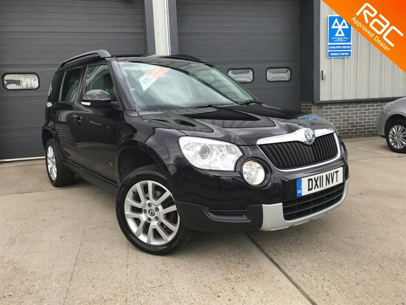 used Skoda Yeti ELEGANCE TDI CR in burnham-on-crouch