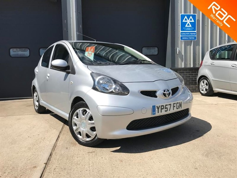 used Toyota Aygo VVT-I PLUS in burnham-on-crouch