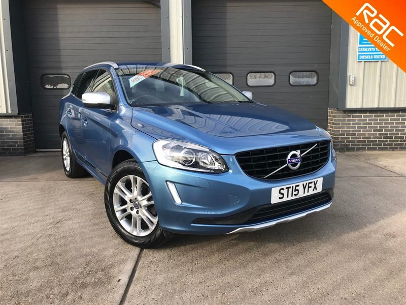 used Volvo XC60 D5 SE LUX NAV AWD in burnham-on-crouch