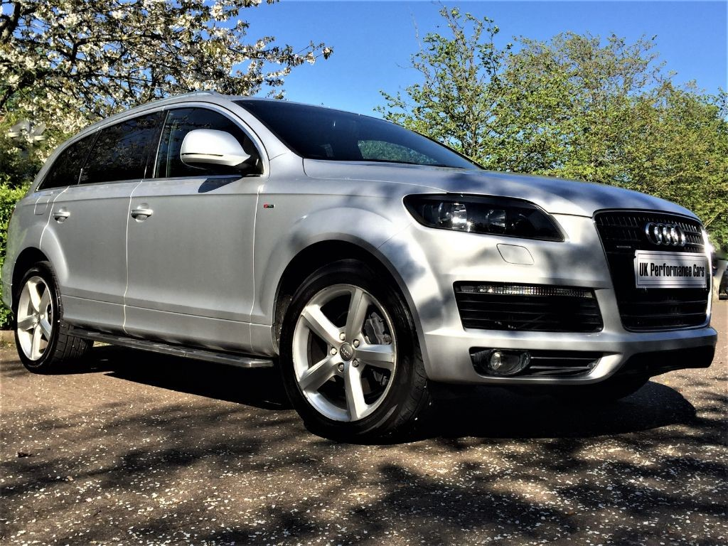 used silver audi q7 for sale middlesex. Black Bedroom Furniture Sets. Home Design Ideas