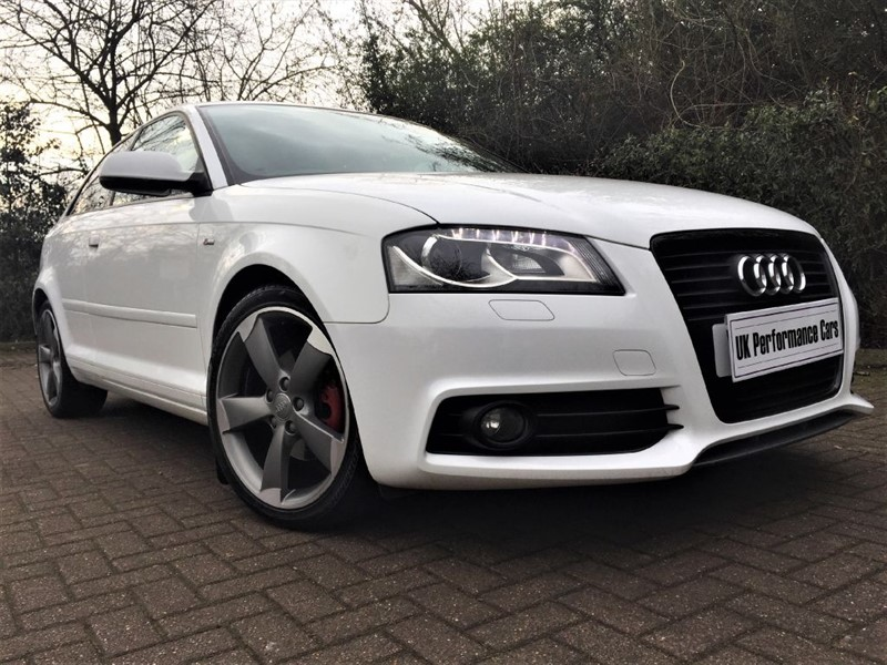 Used Ibis White Audi A3 For Sale Middlesex