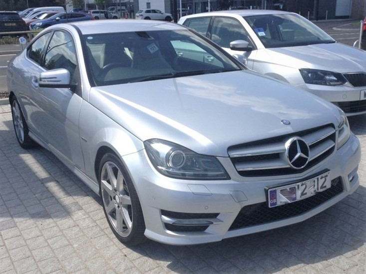 used Mercedes C220 CDI BLUEEFFICIENCY AMG SPORT Coupe 7G-TRONIC PLUS ** FULL SERVICE HISTORY ** RARE SPEC ** L@@K ** in hayes-middlesex