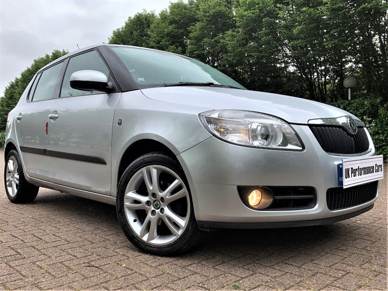 used Skoda Fabia 3 - 1.6 - 16V 105 ** FULLY AUTOMATIC ** GREAT CAR THROUGHOUT ** in hayes-middlesex