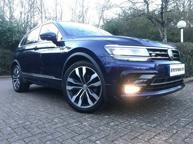 used VW Tiguan R-LINE 1.4 TSI ACT DSG ** AUTOMATIC ** PAN ROOF ** FULLY LOADED ** RARE FIND ** in hayes-middlesex