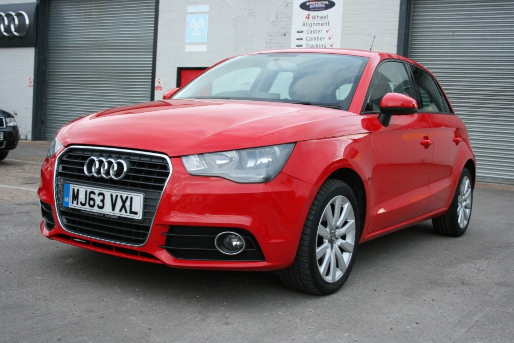 Used Misano Red Pearl Effect Audi A1 For Sale Cambridgeshire