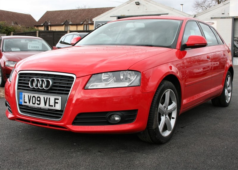 used Audi A3 1.6 SPORTBACK MPI TECHNIK in cambridge