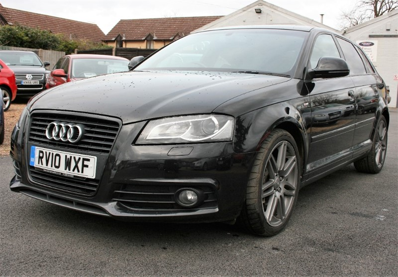used Audi A3 2.0 TFSI S LINE BLACK EDITION in cambridge