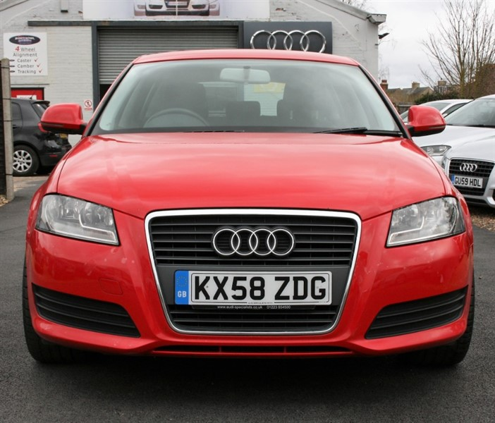 Used Brilliant Red Gloss Audi A3 For Sale