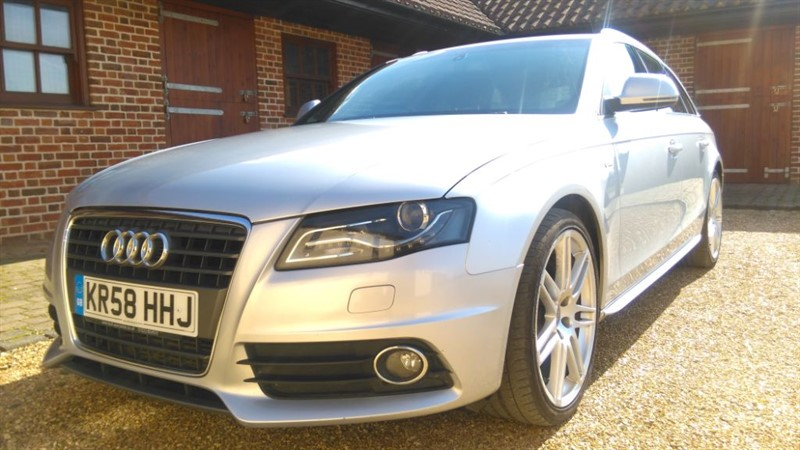 used Audi A4 Avant 2.0 TDI S LINE DPF in cambridge