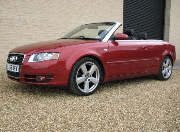 used Audi A4 Cabriolet 1.8T S LINE in cambridge
