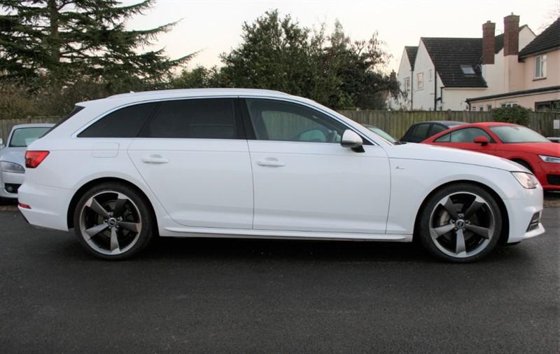 used Audi A4 Avant 2.0 AVANT TDI QUATTRO S LINE in cambridge