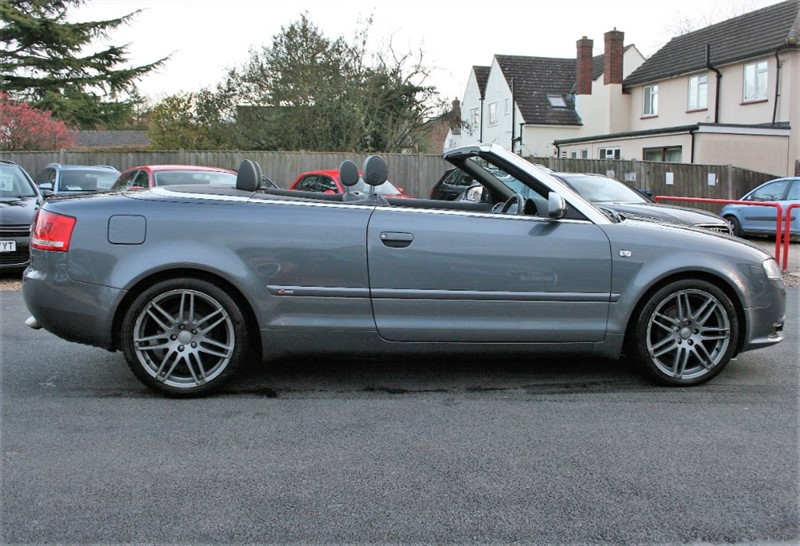 used Audi A4 Cabriolet 2.0 TDI S LINE in cambridge