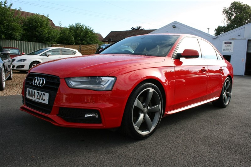 used Audi A4 2.0 TFSI QUATTRO S LINE BLACK EDITION in cambridge