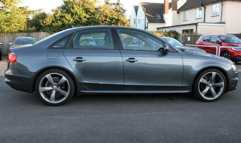 used Audi A4 2.0 TDI S LINE BLACK EDITION in cambridge