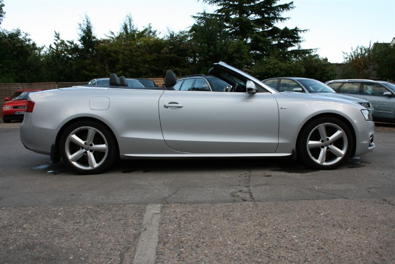 used Audi A5 2.0 TDI S LINE Cabriolet in cambridge