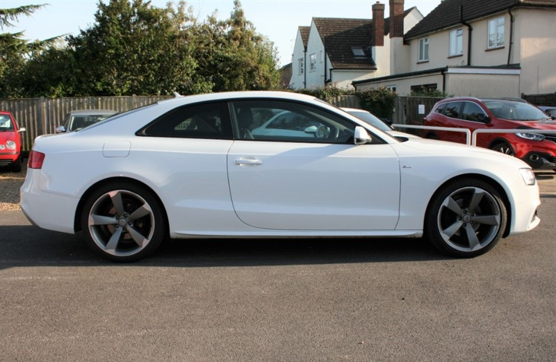 used Audi A5 2.0 TDI QUATTRO S LINE BLACK ED in cambridge