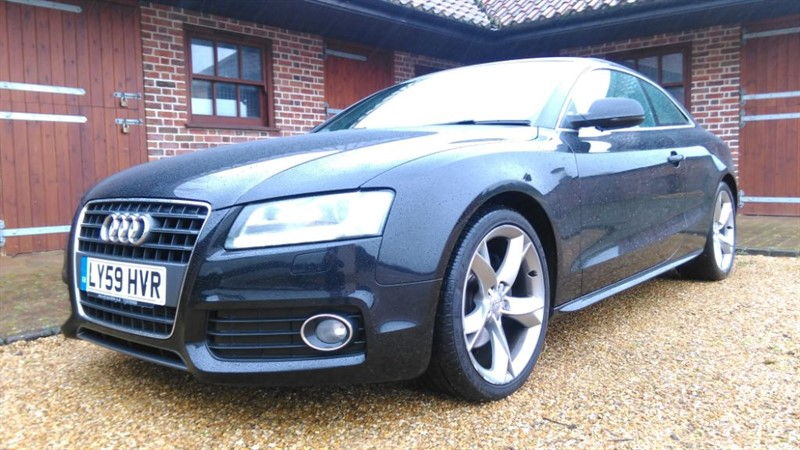 used Audi A5 2.0 TFSI S LINE SPECIAL EDITION in cambridge