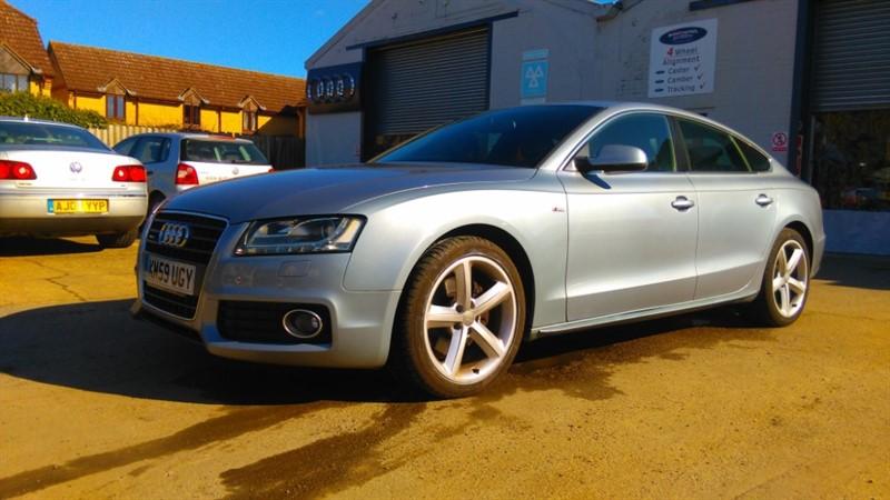 used Audi A5 SPORTBACK 2.0 TFSI QUATTRO S LINE in cambridge