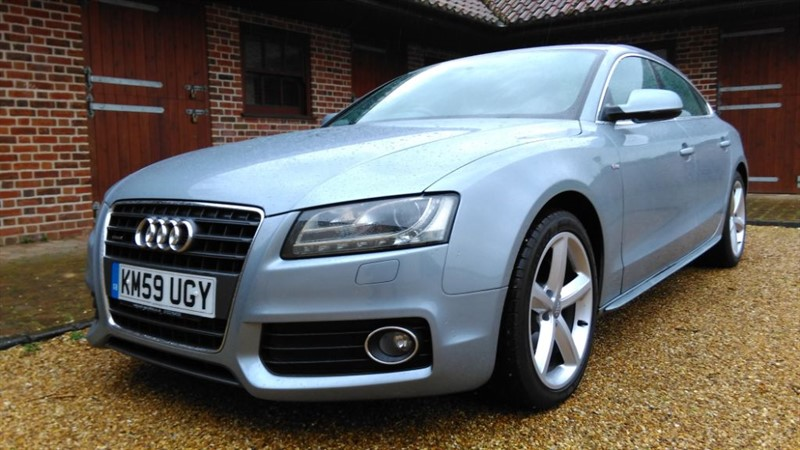 used Audi A5 SPORTBACK 2.0 TFSI QUATTRO S LINE in cambridge