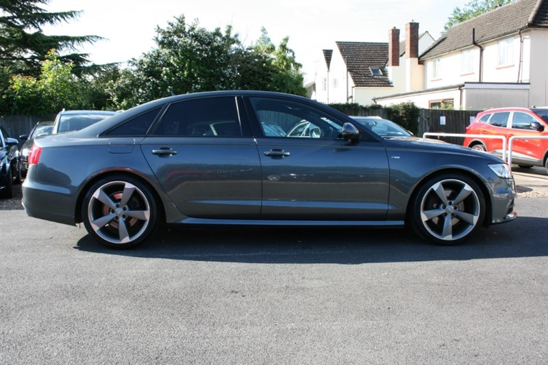 used Audi A6 3.0 TDI QUATTRO S LINE BLACK EDITION in cambridge