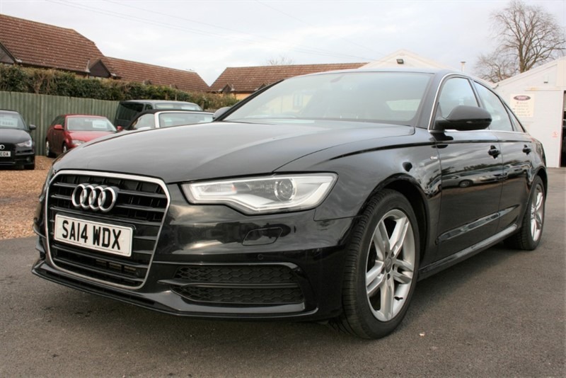 used Audi A6 2.0 TDI S LINE MANUAL in cambridge