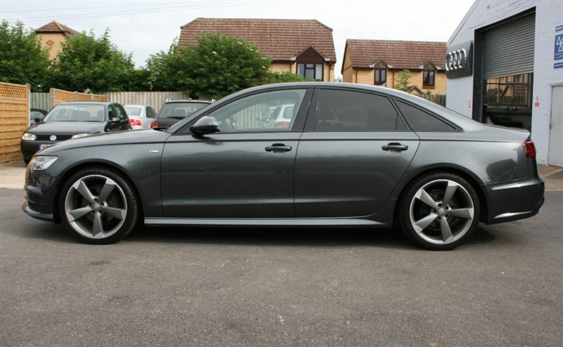 used Audi A6 Saloon 2.0 TDI ULTRA S LINE BLACK ED in cambridge