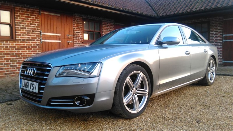 used Audi A8 3.0 TDI QUATTRO SE EXECUTIVE in cambridge