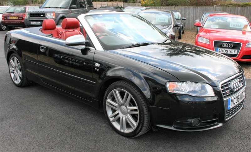 used Audi A4 Cabriolet S4 4.2 QUATTRO in cambridge