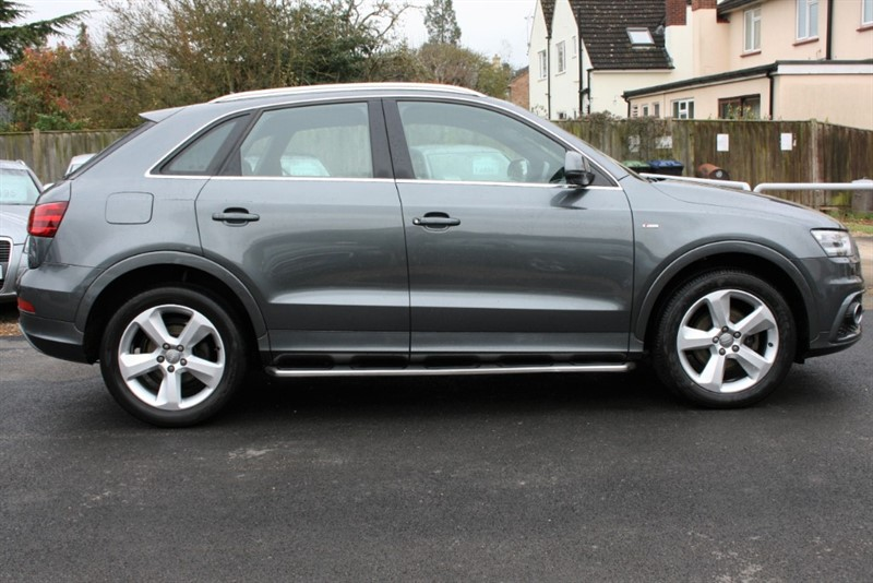 used Audi Q3 2.0 TDI QUATTRO S LINE in cambridge