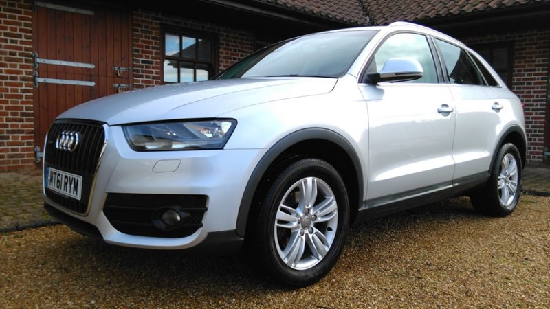 used Audi Q3 TFSI QUATTRO SE in cambridge
