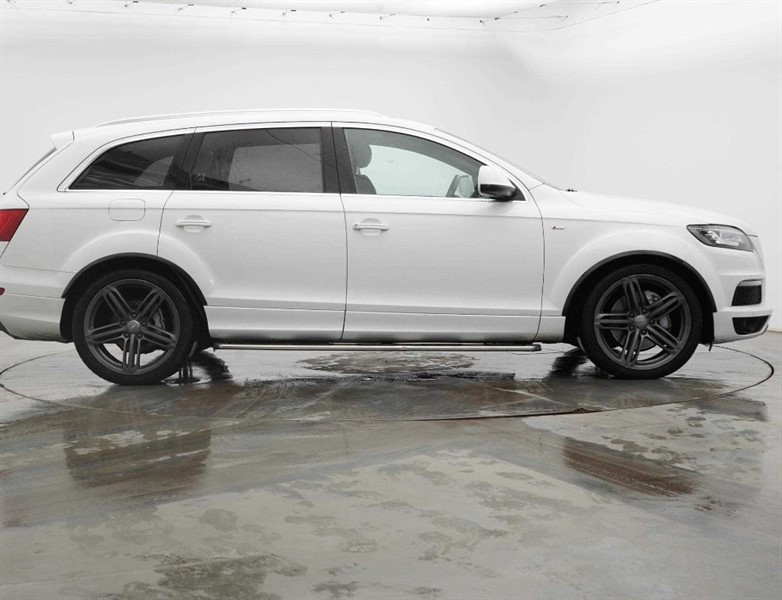 used Audi Q7 3.0 TDI QUATTRO S LINE BLACK ED + in cambridge